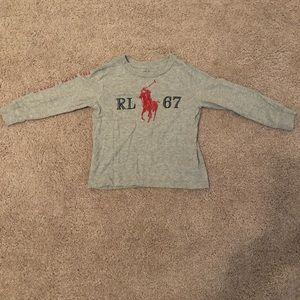 Ralph Lauren boys long sleeve t-shirt sz 2T